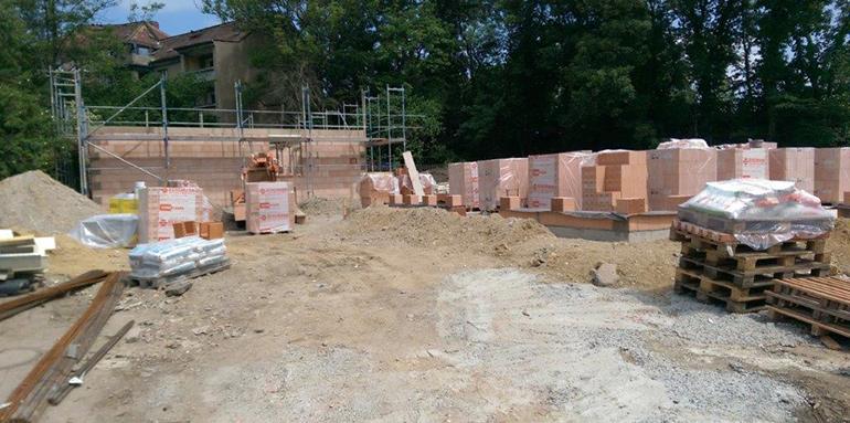 Bautagebuch der Stadtvillen Michendorf und Pankow in Leipzig Connewitz